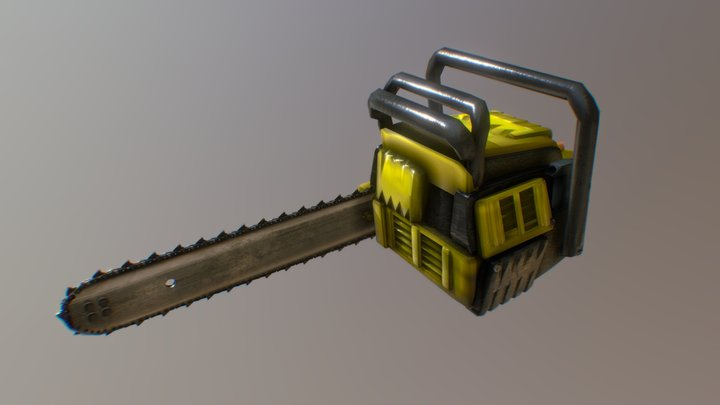 Commercial - Chainsaw - Version 2 3D Model