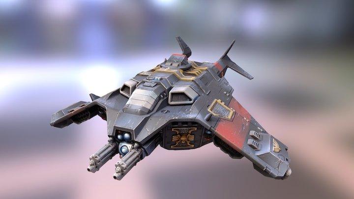 """Corvus Dropship """"Ulysses"""" 3D Model"""