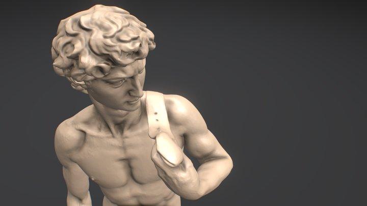 Michelangelo's David - for Alien Covenant 3D Model