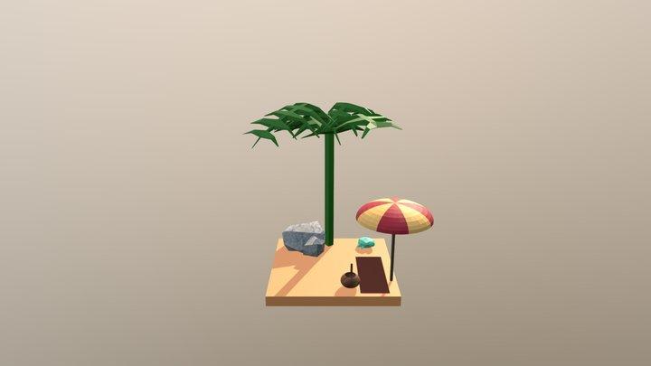 Beach wip2 3D Model