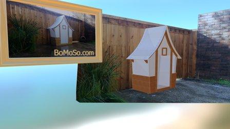 Storybook Cottage 3 - Greenhouse 3D Model