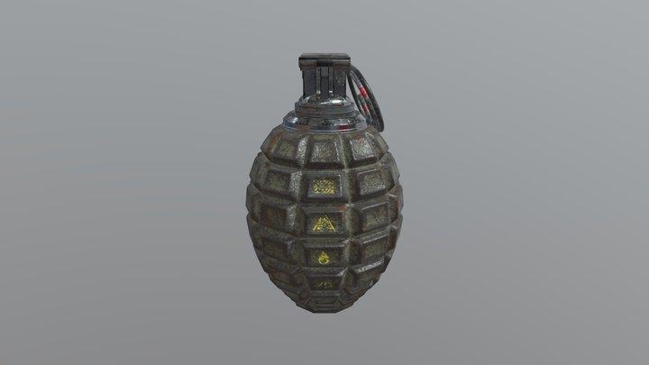 GN - 711 Grenade 3D Model