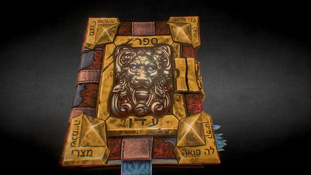 Magic Book of Eden 3D Model