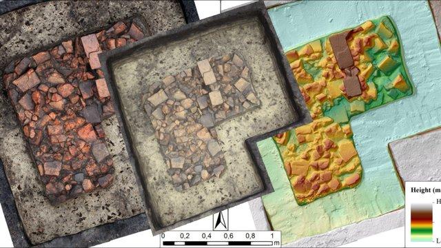 Brick structure 01 (Boudelo, 2011) 3D Model
