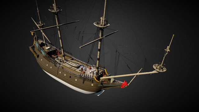 Eendracht 3D Model