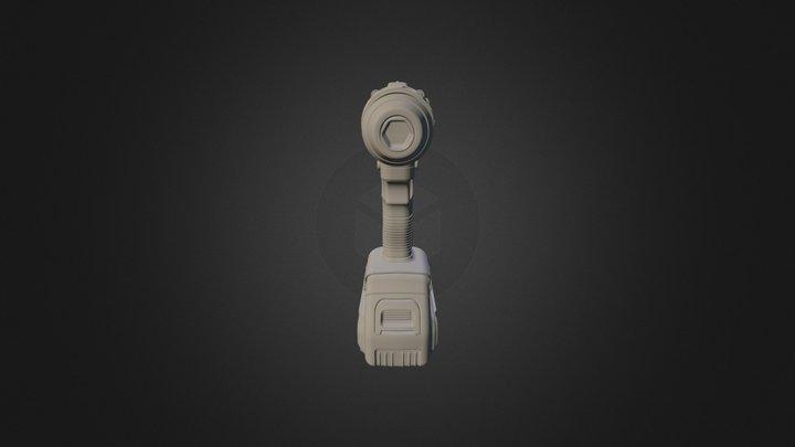 Dewalt 20V Max Drill 3D Model