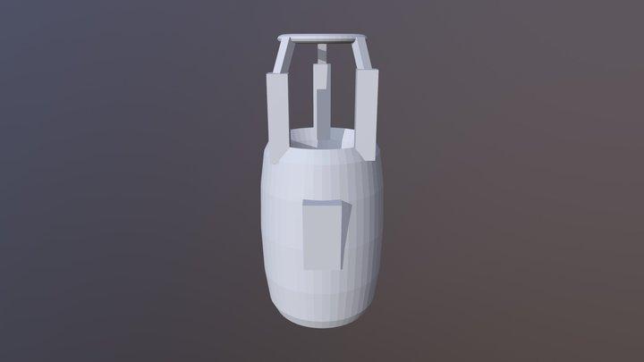 Portal Gun V1 3D Model