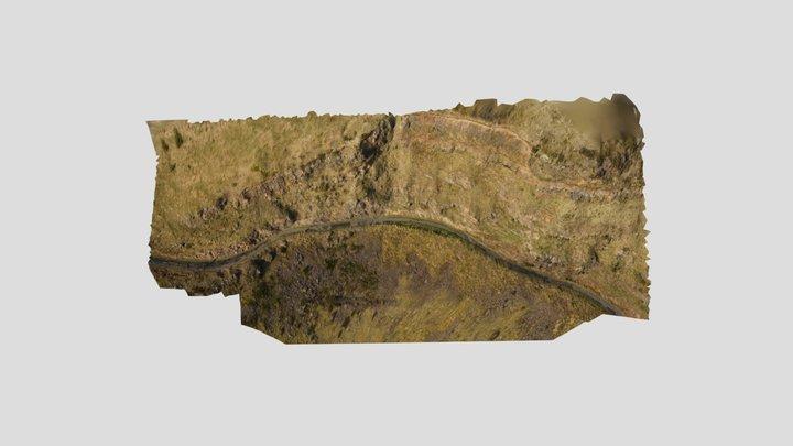Summit Road Christchurch New Zealand 3D Model