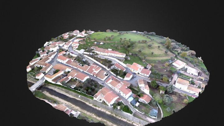 Cerro do Castelo (Garvão) 3D Model