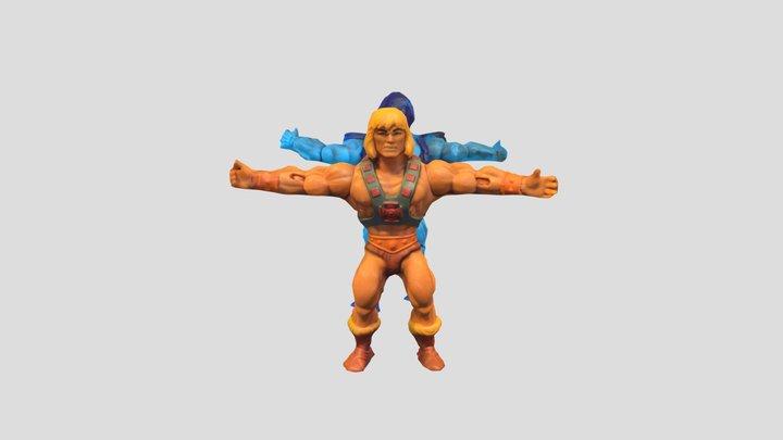 He-Man and Skeletor Action Figure Scans 3D Model