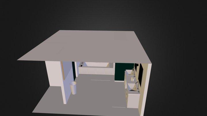 Bathroom Classic.dae 3D Model