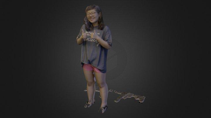 Sabrina 3D Model