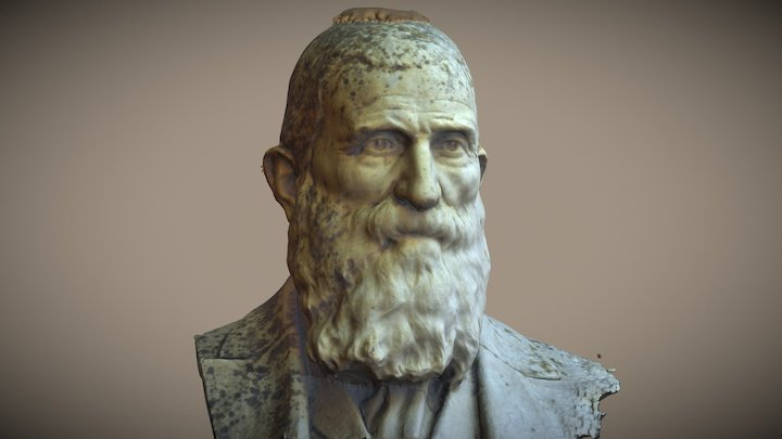 Busto di Salvatore Accardo 3D Model
