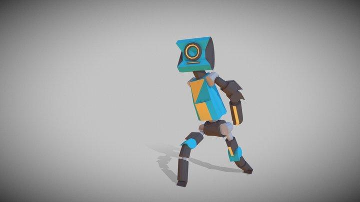 Robot Dance 3D Model