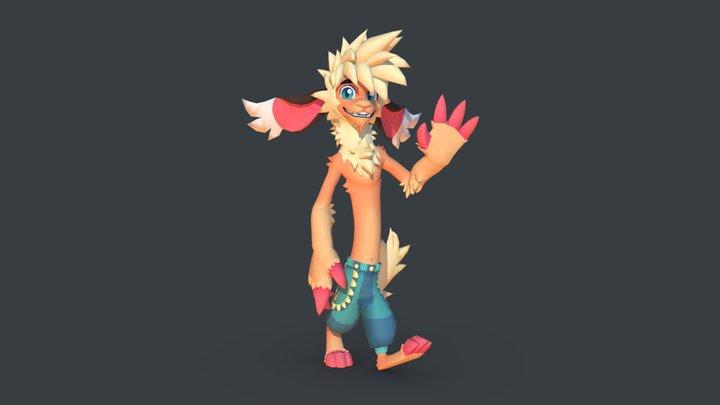 Monster Dude v.2 3D Model