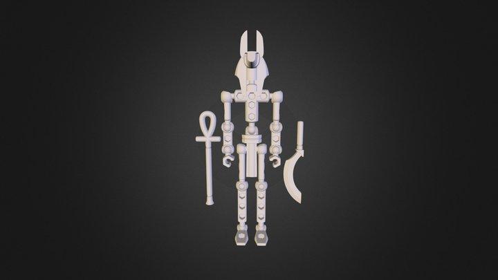 Anubis.3ds 3D Model