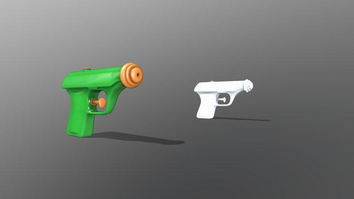 WaterPistol 3D Model