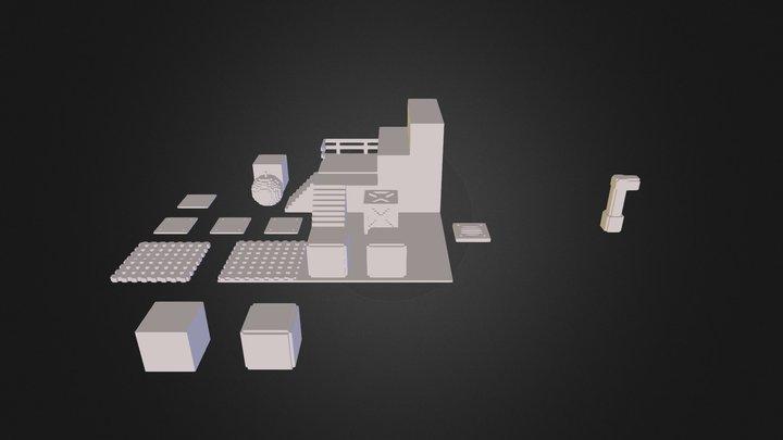 bombermanlevel 3D Model