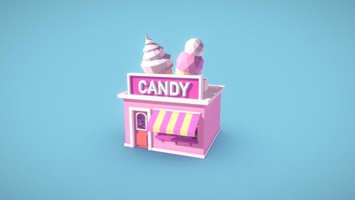 Candy Shop 3D Model