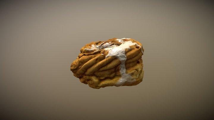 cake, gniazdko, donut 3D Model