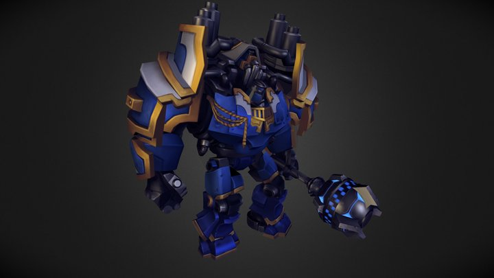 Patriarch (Upgraded Chaplanin) / Inferno 3D Model