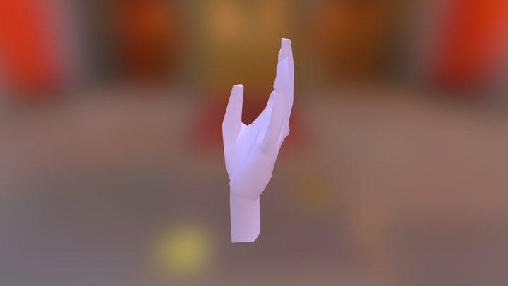 hand. 3D Model