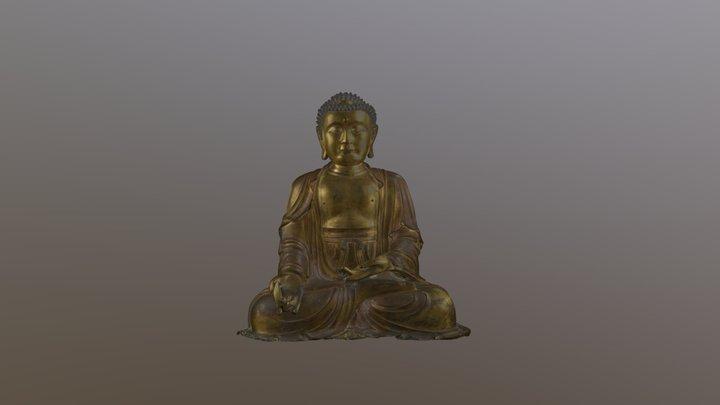 藥師佛 Yaoshi fo (Medicine Buddha) 3D Model