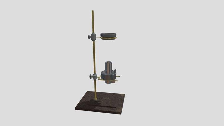 Alcohol Lamp 3D Model