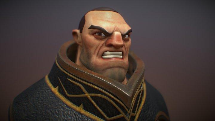 Diablo Berserker 3D Model