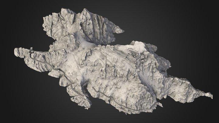 Skellig Michael 3D Model