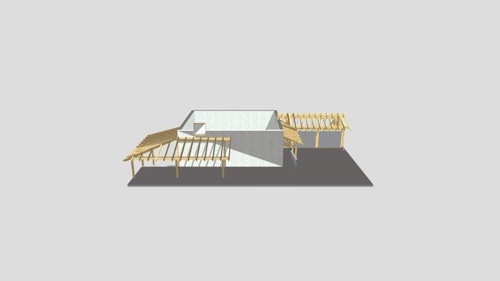 Kronwinkler Erich Garage und Terrasse.xml 3D Model