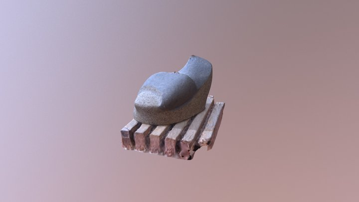 Stone sculpture 3D Model