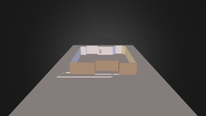 Patio Design 3D Model