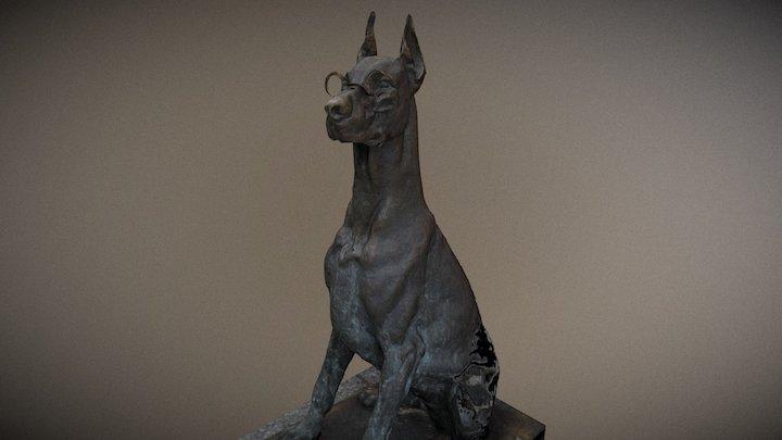 Dog by E.Ludavičius 3D Model
