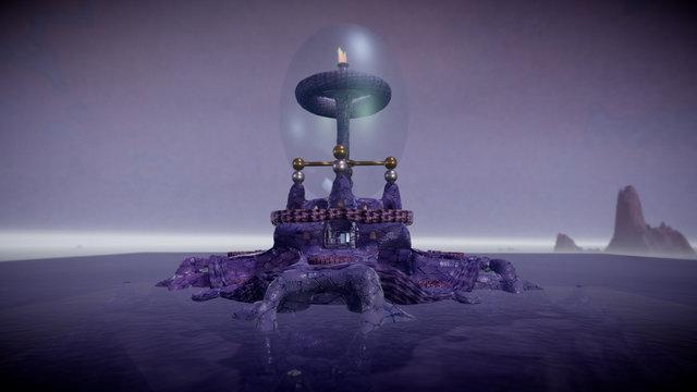Snake Isle - The Forgotten Artifact 3D Model