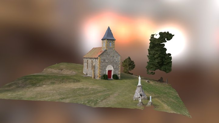 Drone photos et modelisation 3D 3D Model