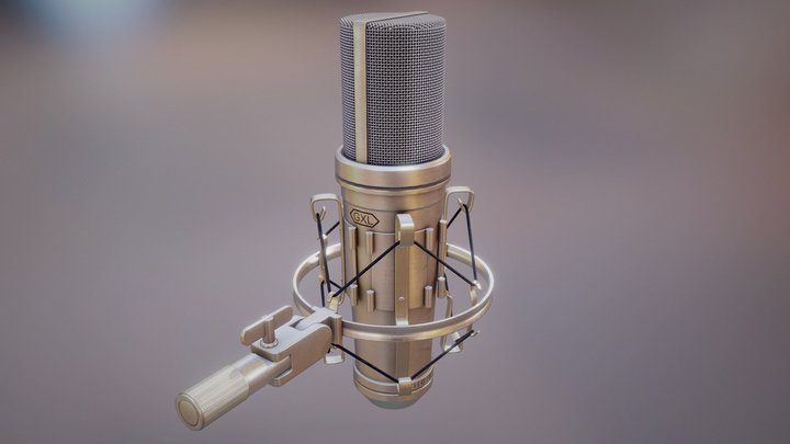 Microphone GXL 066 Bafhcteks 3D Model