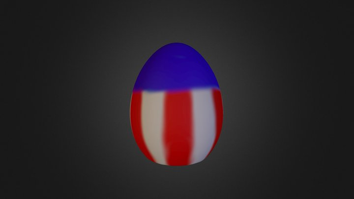 EasterEgg 3D Model