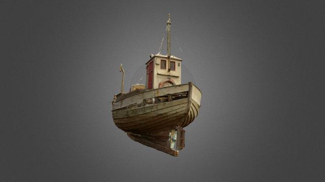 Sjark i Vardø 3D Model