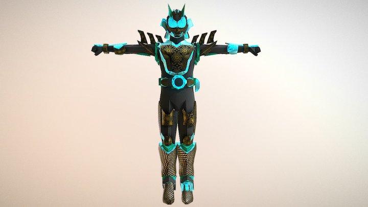 Rider 25 3D Model