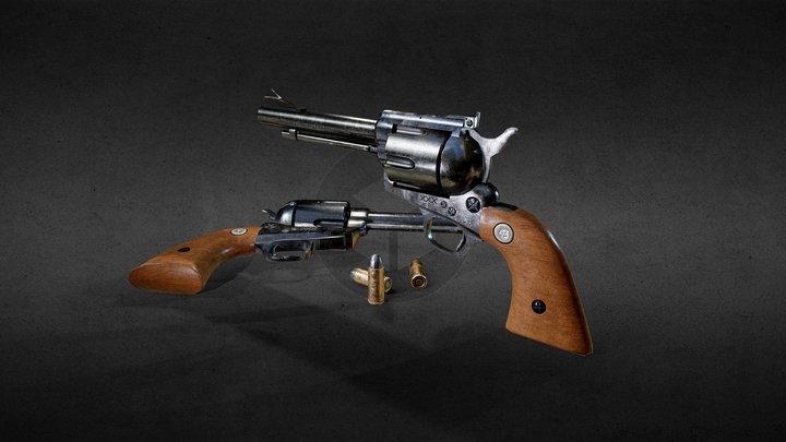 Red Dead Revolver WIP 3D Model