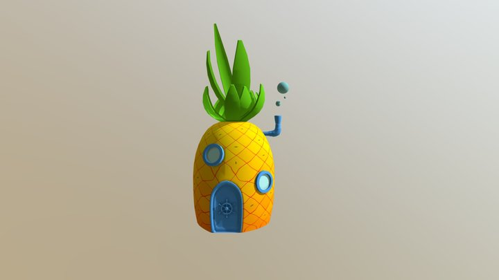 Pineapple house 3D Model