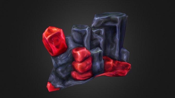 Rhodonite 3D Model