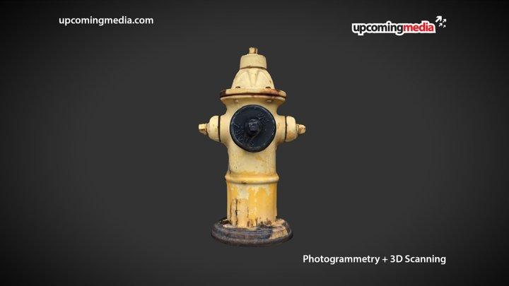 Fire Hydrant (Photogrammetry) 3D Model