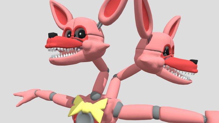 Stylized Jangle 3D Model