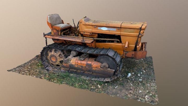 Toskana_Raupe_v02a 3D Model