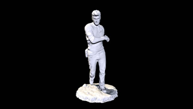 Nathan Drake Uncharted low res 3D Model