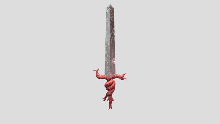 Espada de madera :o 3D Model