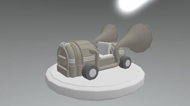 JukeboxKart_Merlynn 3D Model