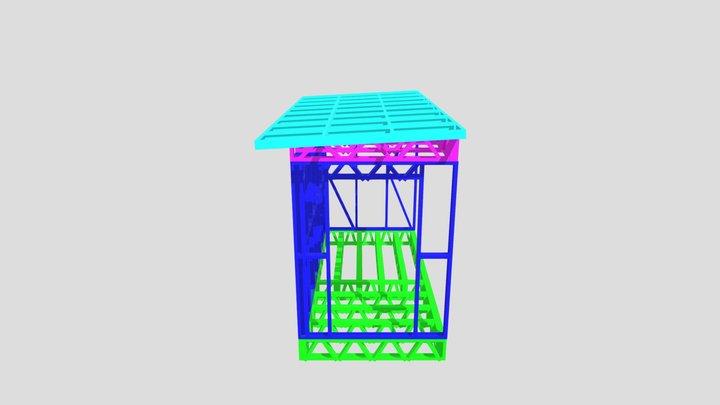 пристрой 3D Model